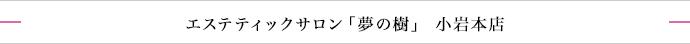 エステティックサロン「夢の樹」小岩本店
